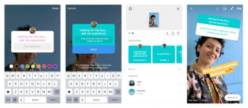 Instagram adds Q&A feature to Stories