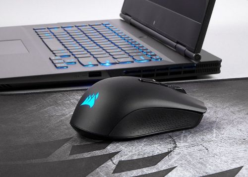 Corsair Harpoon RGB 1ms latency wireless gaming mouse