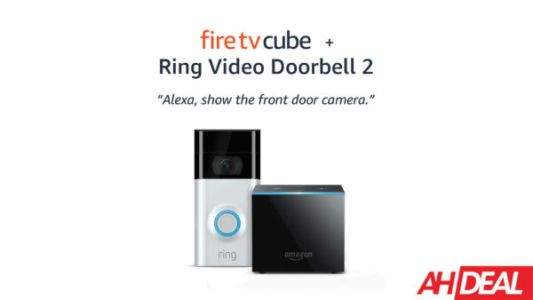 Bundle The Amazon Fire TV Cube & Ring Video Doorbell 2 For $219