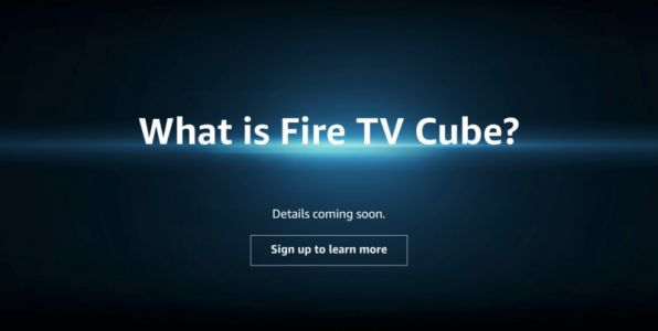 Mysterious Amazon.com page hints at forthcoming Fire TV Cube