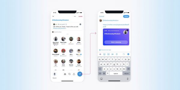 Twitter rolling out new ways to share and discover Spaces