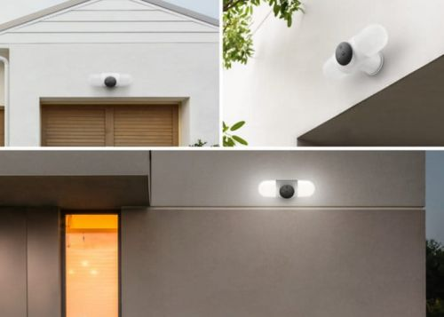 Litmor Capsule Intelligent Security Camera Floodlight