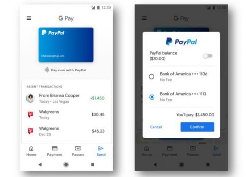PayPal Now Available As Payment Option Across Google Apps