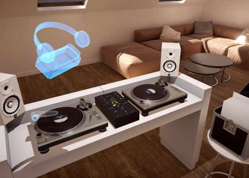 DJ In Virtual Reality With Vinyl Reality App