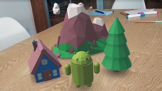 Google ARCore SDK released with support for over 100 million devices