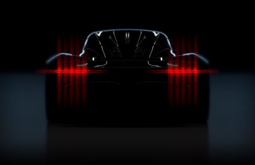 Aston Martin Project003 teased ahead of Geneva