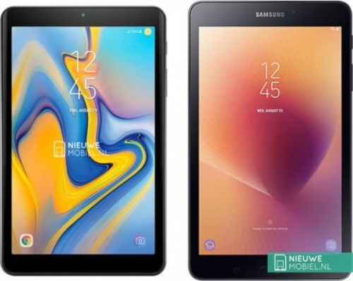 Galaxy Tab A 8.0 (2018) Renders Leaked, Has No Front Buttons