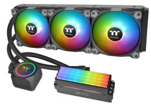 Thermaltake creates combined CPU and Memory liquid cooler