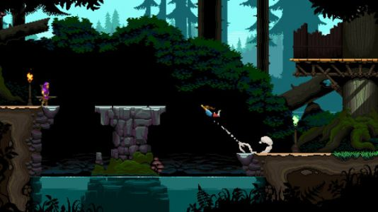 Savior is a gorgeous 2D parkour game from Nintendo, Lucas, and Sierra vets