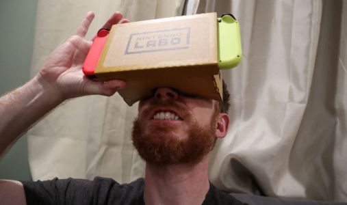 """Nintendo Labo VR review: There's no """"Nintendo magic"""" inside these lenses"""