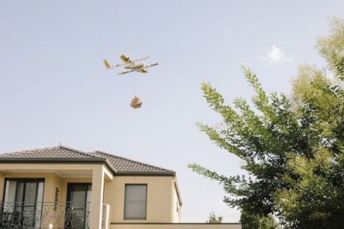 Drones Now Delivering Food And Coffee In Australia