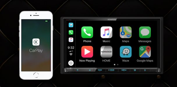 CES 2019: Kenwood Debuts Lineup of Wireless CarPlay Receivers