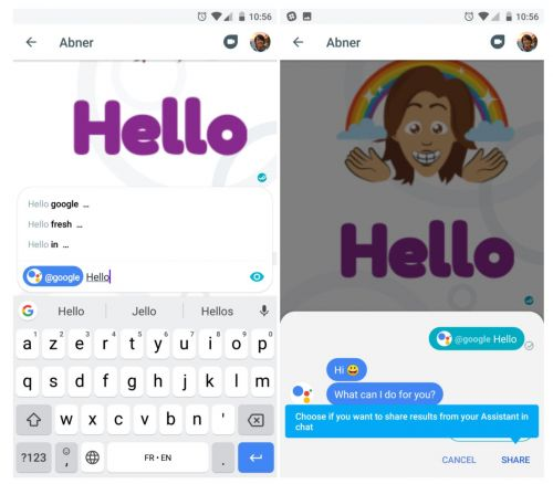 Google Allo To Support GIF & Sticker Customization On Android