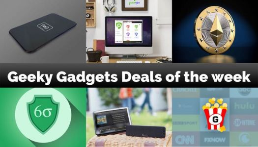 Geeky Gadgets Deals Of The Week, 21st October 2017
