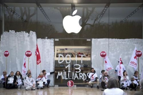 Apple Denied Request to Ban Tax Protestors From Its Stores in France