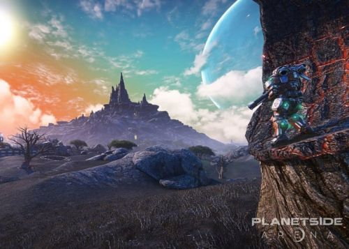 PlanetSide Arena launch slips again, preorders refunded