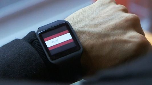 BBC experiments with speed-reading news on smart watches