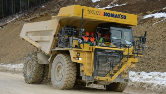This cement quarry dump truck will be the world's biggest electric vehicle