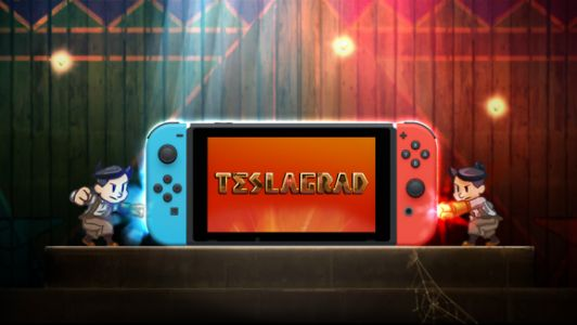 Teslagrad's hand-drawn puzzle world arrives on Switch December 7