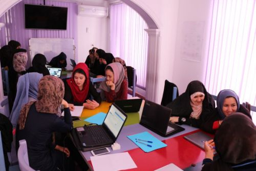 Code to Inspire trains girls to code and make games in Afghanistan