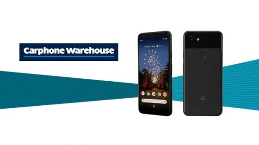 Get a £40 voucher when you order a Google Pixel 3a deal from Carphone Warehouse
