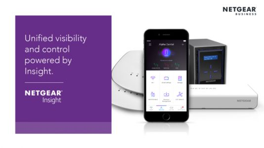 Netgear Launches Smart Cloud Devices with Insight Management for Business Networks