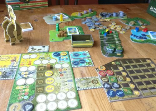 Altiplano review: A brain-tickling board game about. alpacas