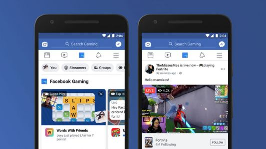 Facebook's updated mobile app receives a dedicated gaming section