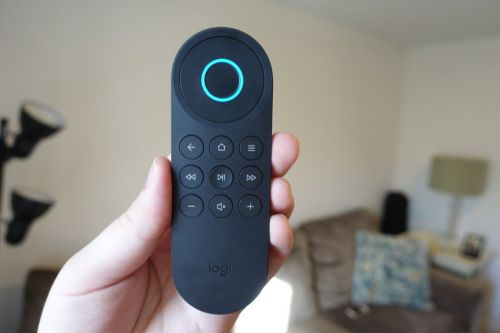 Logitech's latest universal remote gives Alexa the keys to your home theater