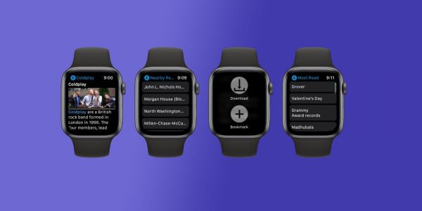MiniWiki allows you to browse Wikipedia from your Apple Watch with bookmarks, nearby, and more