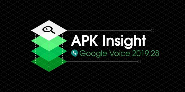 Google Voice 2019.28 adds Material Theme account switcher, preps vCard support