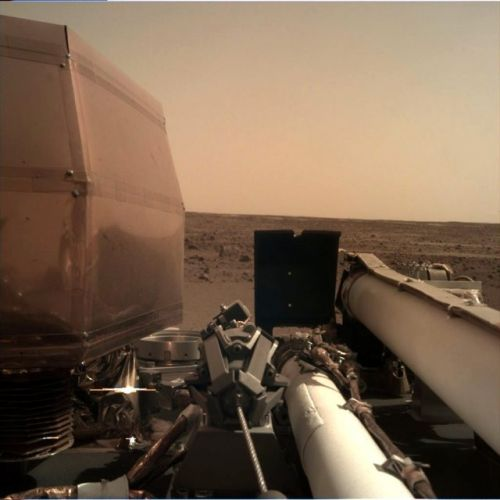 NASA InSight Lander Successfully Touches Down On Mars