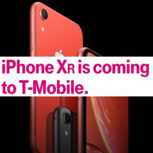 T-Mobile opens the deal season on the iPhone XR before pre-orders start