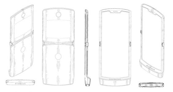 Motorola RAZR foldable display design revealed by new patent?