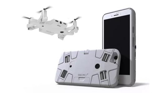 This selfie-taking drone can fit inside a phone case