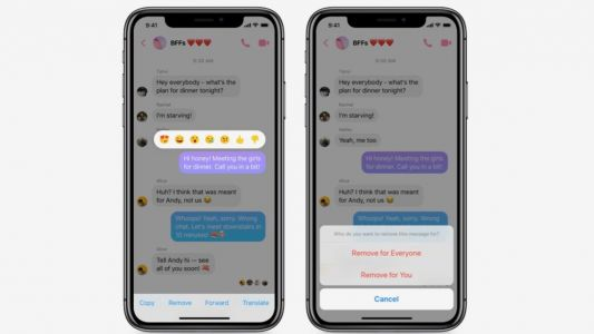 Facebook Messenger rolling out new 'Unsend' feature, here's how to use it