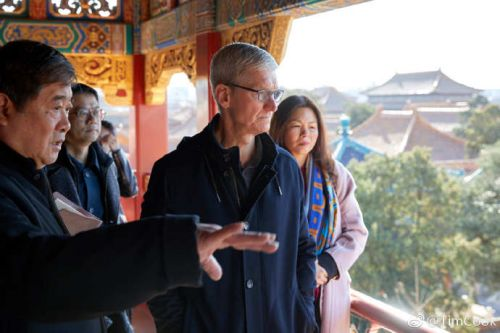 Tim Cook Travels to China, Meets With Vice Premier and Developers