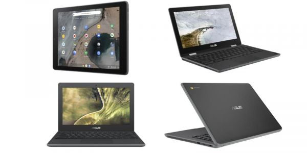 Asus unveils latest education Chrome OS devices at CES: two Chromebooks, new Flip, & first Tablet