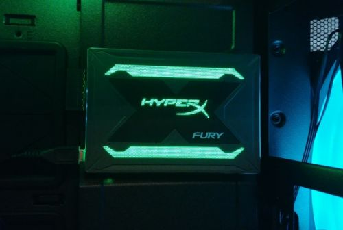 HyperX at CES 2018: Fury SSD with RGB, for Bling