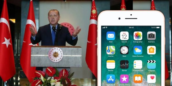 Turkish president calls for iPhone boycott, amidst breakdown of Turkey-US relations