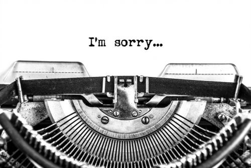 When Sorry Isn't Good Enough
