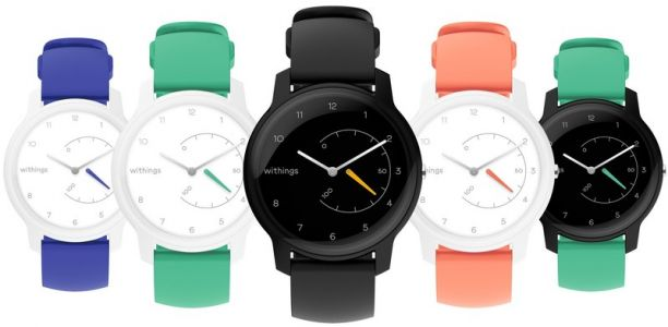 Withings returns with colorful $70 Move smartwatch that has 18-mo battery