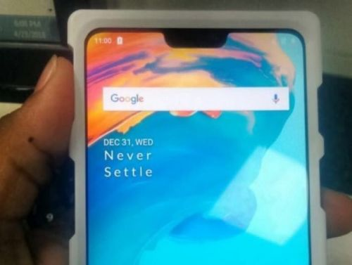 Prototype OnePlus 6 Smartphone Shows The Handsets Notch