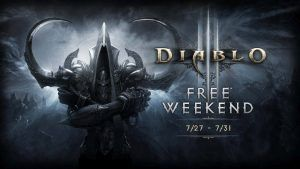 Diablo III: Reaper of Souls Free Weekend with Xbox Live Gold - Geek News Central