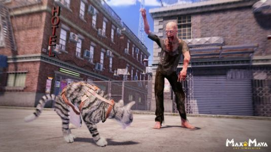 Max&May has cats nipping away the zombie apocalypse