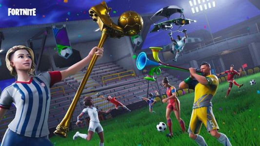 Fortnite celebrates World Cup with stadium and goal scoring challenges