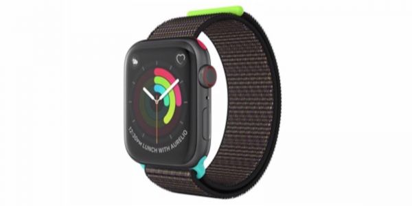 Custom Apple Watch Sport Loop Band set as prize for Apple's third company-wide activity challenge