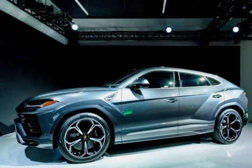 If you can't beat them. Lamborghini joins the SUV set