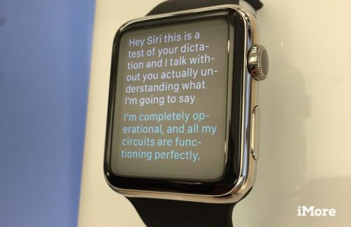 Everything Siri can do on your Apple Watch