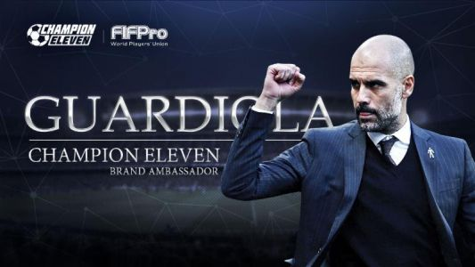 'Champion Eleven' Is an Officially-Licensed Football Management Game Starring Pep Guardiola, Kicking off Soon on the App Store